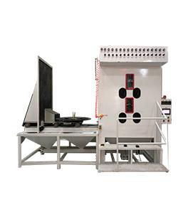 江苏智能环保箱式喷砂机